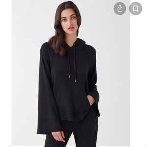 Splendid Super Soft Pullover with Sherpa Hoodie